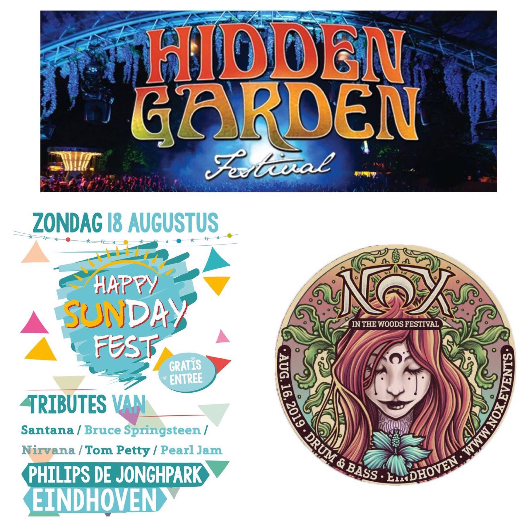 Cameratoezicht geleverd in Philips de Jonghpark Eindhoven voor Nox In The Woods, Hidden Garden festival en Happy Sunday Fest! #beveiliging #commandounit #security #camerabeveiliging