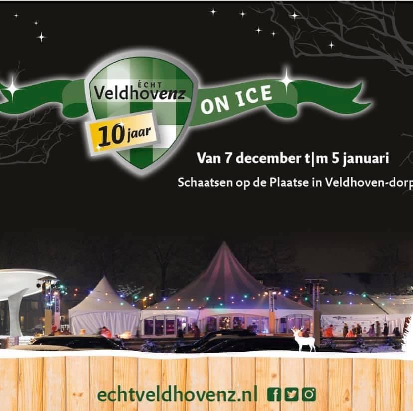 Komende weken waken onze camera's over de ijsbaan Echt Veldhovenz ON ICE! #camerabewaking #beveiliging #ijsbaan #veldhoven