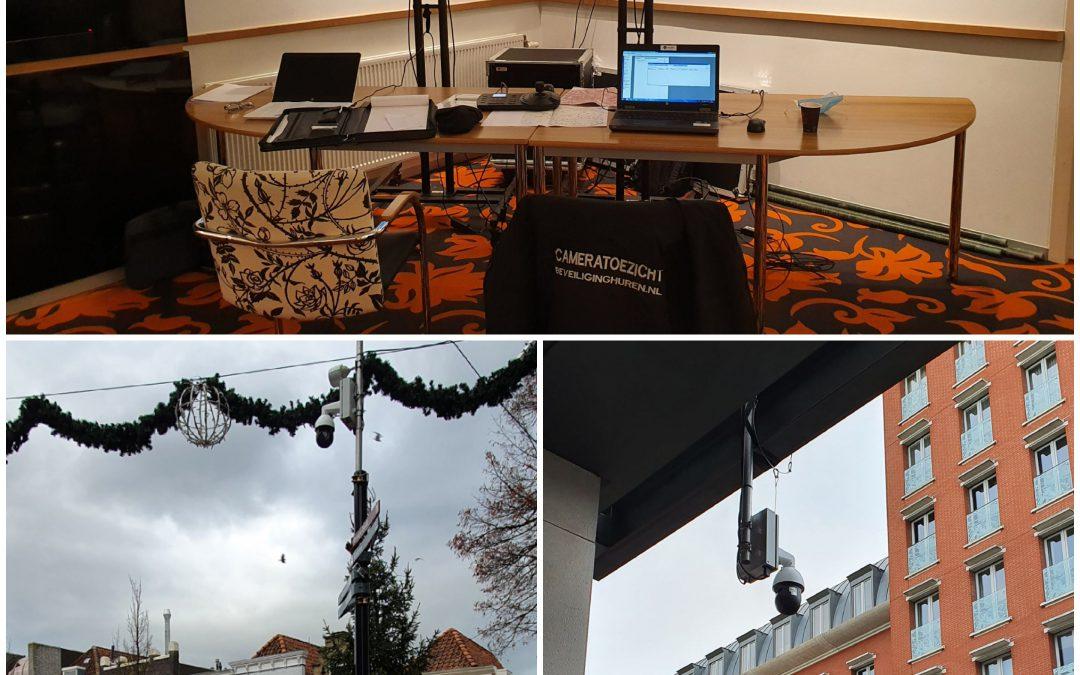 In opdracht van Risk en Gemeente Dordrecht hebben wij het centrum voorzien van tijdelijk cameratoezicht op diverse locaties. Binnen 24 uur na aanvraag waren we aan het monteren! Alle camera posities gekoppeld door middel van straalverbindingen en een centrale post met monitoren en bediening ingericht in een pand.Ook behoefte aan (tijdelijk) wat extra toezicht? Neem vrijblijvend contact met ons op!cameratoezicht #beveiliging #handhaving #gemeente #toezicht #ptzcamera #crowdmanagement #camerabeveiliging #alcobeveiliging